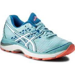 Buty ASICS - Gel-Pulse 9 T7D8N Porcelain Blue/White/Victoria Blue 1401. Niebieskie buty do biegania damskie marki Asics, z gore-texu. W wyprzedaży za 279,00 zł.