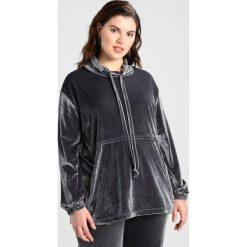 Bluzy rozpinane damskie: ADIA STAND UP COLLAR Bluza dark iron