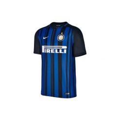Koszulka Inter Mediolan. Niebieskie bluzki dziewczęce z krótkim rękawem marki Nike. Za 199,99 zł.