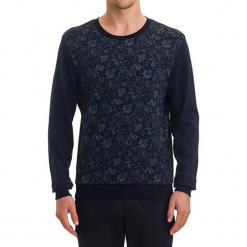 Sweter w kolorze ciemnoniebieskim ze wzorem. Niebieskie swetry klasyczne męskie GALVANNI, m, z okrągłym kołnierzem. W wyprzedaży za 139,95 zł.