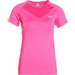 Topy sportowe damskie: KariTraa TOVE TEE Tshirt z nadrukiem sweet