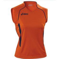 Asics Koszulka damska Aruba pomarańczowa r. M (T603Z1.6950). Brązowe bluzki z odkrytymi ramionami Asics, m. Za 72,00 zł.
