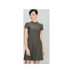 Sukienki: Sukienka K433 Oliwka