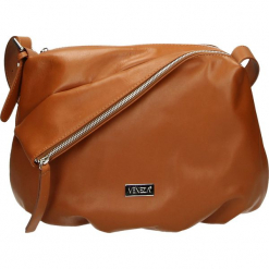 Torba - 138-002-M S C. Szare torebki klasyczne damskie Venezia, ze skóry. Za 179,00 zł.