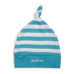 Juddlies Czapka Niemowlęca Blue Stripe. Niebieskie czapeczki niemowlęce Juddlies. Za 26,24 zł.