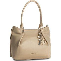 Torebka KAZAR - Gisella 29051-01-03 Beige. Brązowe torebki klasyczne damskie Kazar, ze skóry. W wyprzedaży za 549,00 zł.