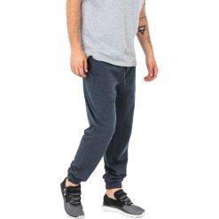 Spodnie dresowe męskie: 4f Spodnie sportowe dresowe męskie H4Z17-SPMD001 granatowe r. M