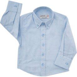 Koszula nakrapiana jasnoniebieska NDZ3803. Niebieskie koszule chłopięce Fasardi. Za 69,00 zł.