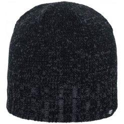 4F Męska Czapka H4Z17 cam008 Ciemny Szary Melanż L-Xl. Szare czapki zimowe męskie marki 4f, melanż, z polaru, klasyczne. W wyprzedaży za 26,00 zł.