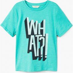 Odzież chłopięca: Mango Kids - T-shirt dziecięcy teo 104-164 cm