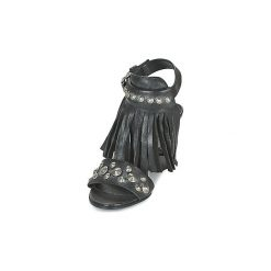 Sandały Mimmu  AMELI. Czarne sandały damskie marki Mimmu. Za 591,20 zł.