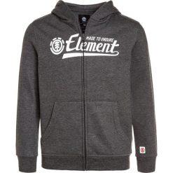 Element SIGNATURE BOY Bluza rozpinana charcoal heather. Szare bluzy chłopięce rozpinane marki Element, z bawełny. W wyprzedaży za 148,85 zł.
