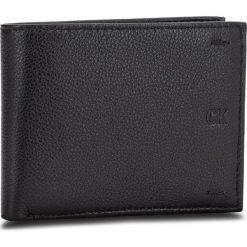Duży Portfel Męski CALVIN KLEIN JEANS - Pebbled Leather Billfold W Coin K40K400665 001. Czarne portfele męskie marki Calvin Klein Jeans, z jeansu. Za 279,00 zł.
