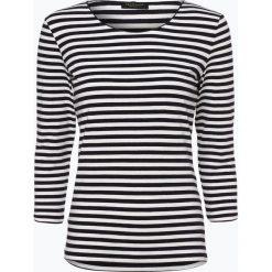 Marie Lund - T-shirt damski – Coordinates, niebieski. Niebieskie t-shirty damskie Marie Lund, xs, w prążki, z dżerseju. Za 99,95 zł.