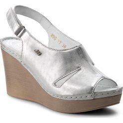 Rzymianki damskie: Sandały WALDI – 0896 Srebrny