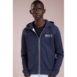 BOSS ATHLEISURE SAGGY Bluza rozpinana navy. Niebieskie bluzy męskie rozpinane marki BOSS Athleisure, m. Za 749,00 zł.
