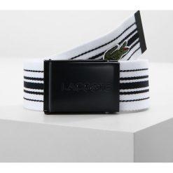 Paski damskie: Lacoste BELT Pasek white/navy