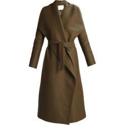 Płaszcze damskie pastelowe: IVY & OAK Płaszcz wełniany /Płaszcz klasyczny khaki green