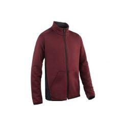 Bluza S500. Czerwone bluzy chłopięce rozpinane DOMYOS. Za 44,99 zł.
