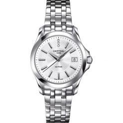 PROMOCJA ZEGAREK CERTINA DS PRIME ROUND DIAMONDS. Białe zegarki damskie CERTINA, ze stali. W wyprzedaży za 1381,60 zł.