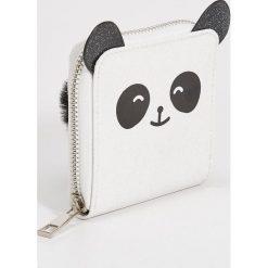 Portfel panda z uszami - Biały. Białe portfele damskie Sinsay. Za 19,99 zł.