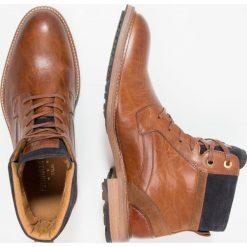 Botki męskie: Pantofola d`Oro PIZZOLI  Botki sznurowane tortoise shell