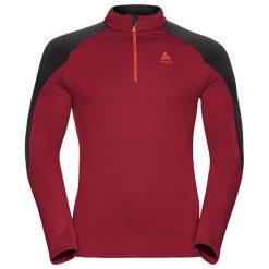 Odlo Bluza tech. Odlo Midlayer 1/2 zip Gallatin                - 528252 - 528252/30327/L. Czerwone bluzy sportowe damskie marki Odlo, l. Za 271,16 zł.