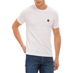 T-shirt w kolorze białym. Białe t-shirty męskie GALVANNI, m, z okrągłym kołnierzem. W wyprzedaży za 84,95 zł.