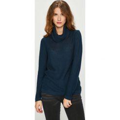 Medicine - Sweter Basic. Czarne golfy damskie MEDICINE, l, z bawełny, z krótkim rękawem. Za 89,90 zł.