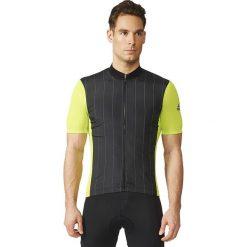 Adidas Koszulka rowerowa Supernova Reflectivity SS Jersey czarno-żółta r. S (AI2821). Odzież rowerowa męska Adidas, m. Za 190,00 zł.