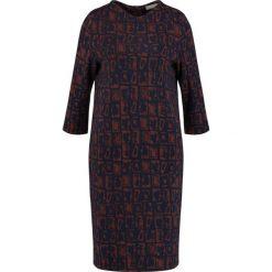 Sukienki hiszpanki: Betty & Co Sukienka z dżerseju dark blue/brown