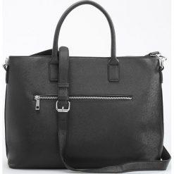 Duża torba typu city - Czarny. Czarne torebki klasyczne damskie Reserved, duże. Za 99,99 zł.