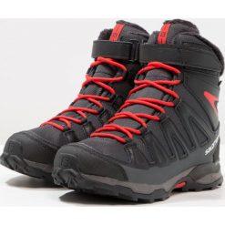 Salomon Śniegowce asphalt/black/radiant red. Niebieskie buty zimowe damskie marki Salomon. W wyprzedaży za 349,30 zł.