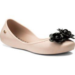 Baleriny ZAXY - Start V Fem 82301 Pink/Black 51647 AA285055 02064. Czerwone baleriny damskie marki Zaxy, z tworzywa sztucznego. W wyprzedaży za 129,00 zł.