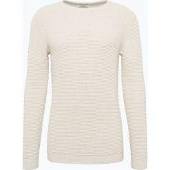 Selected - Sweter męski, biały. Białe swetry klasyczne męskie Selected, m, z bawełny. Za 149,95 zł.