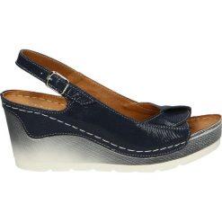 Sandały damskie: Sandały – 1172 FAL BLU
