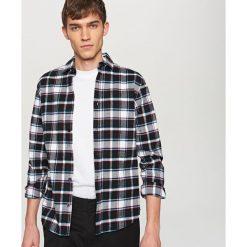 Koszula w kratę - Wielobarwn. Szare koszule męskie marki House, l, w kratkę. Za 99,99 zł.