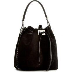 Torebka CREOLE - K10343 Czarny. Czarne torebki worki Creole, ze skóry. W wyprzedaży za 209,00 zł.