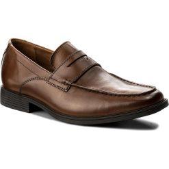 Półbuty CLARKS - Tilden Way 261315767 Tan Leather. Brązowe półbuty skórzane męskie marki Clarks. W wyprzedaży za 249,00 zł.