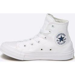 Converse - Trampki dziecięce chuck taylor all star ii. Szare buty sportowe dziewczęce Converse, z materiału. W wyprzedaży za 179,90 zł.