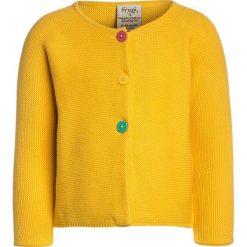 Swetry chłopięce: Frugi BABY CEIRA CARDIGAN Kardigan sun yellow