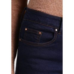 Lost Ink MID RISE SKINNY Jeans Skinny Fit indigo blue. Niebieskie rurki damskie Lost Ink. Za 169,00 zł.