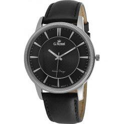 Zegarki męskie: Zegarek Gino Rossi męski Brenton czarny (10077A-1A1)