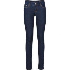 """Dżinsy ze stretchem SKINNY bonprix ciemnoniebieski """"stone"""". Niebieskie jeansy damskie marki House, z jeansu. Za 99,99 zł."""