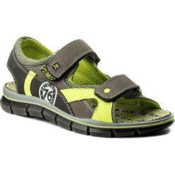 Sandały PRIMIGI - 1396100 D Talp. Szare sandały chłopięce Primigi, z materiału. W wyprzedaży za 219,00 zł.