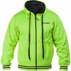 Bluzy męskie: W-TEC Bluza męska Gaciter NF-3154 zielono-neonowa r. 3XL (15115-2-3XL)