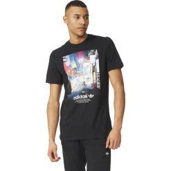 Koszulki sportowe męskie: Adidas Koszulka męska T-Shirt Street Photo Tee czarna r. S (AZ1480)