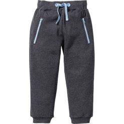 Spodnie dresowe bonprix antracytowy melanż. Szare spodnie dresowe dziewczęce bonprix, melanż, z dresówki. Za 29,99 zł.