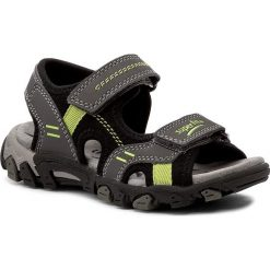 Sandały męskie skórzane: Sandały SUPERFIT – 0-00446-06 M Stone Kombi