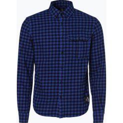 Calvin Klein Jeans - Koszula męska, szary. Szare koszule męskie jeansowe marki Calvin Klein Jeans, m. Za 349,95 zł.